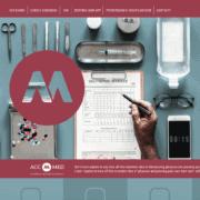 Studio per un website layout